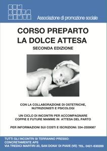 corso preparto La Dolce Attesa - seconda edizione